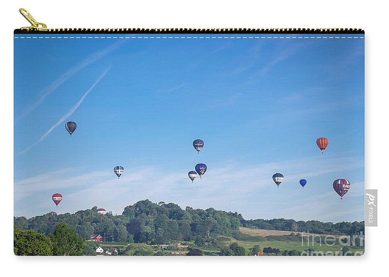 Bristol Carry-all Pouch featuring the photograph England by Milena Boeva