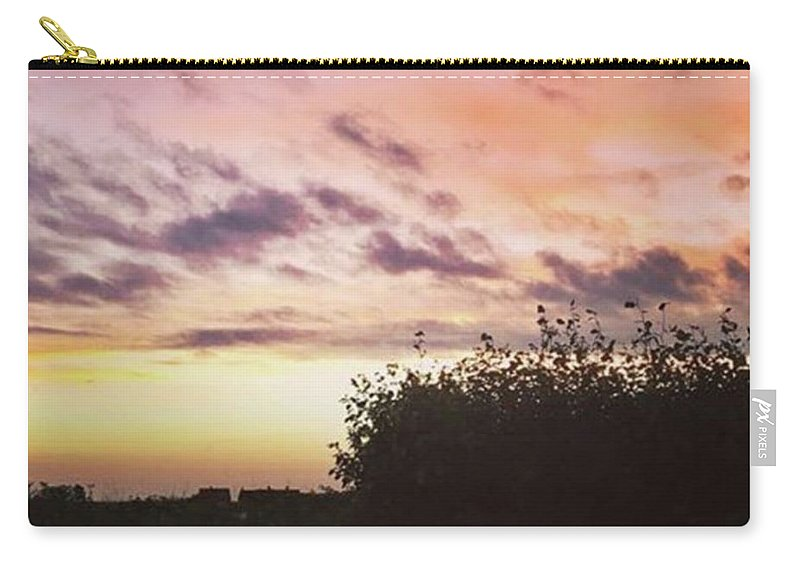 Norfolklife Carry-all Pouch featuring the photograph A Beautiful Morning Sky At 06:30 This by John Edwards