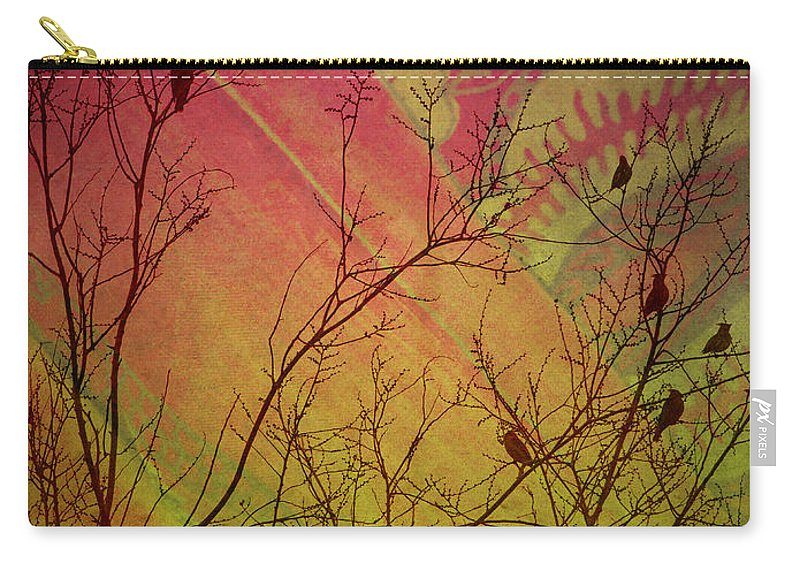 Birds Carry-all Pouch featuring the photograph A Bird's Dream Of Summer by Tara Turner