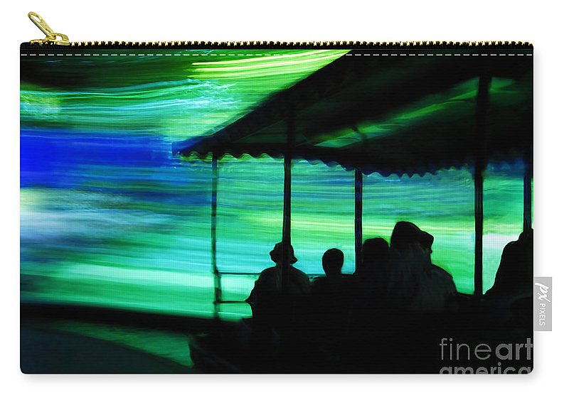 Time Travel Carry-all Pouch featuring the photograph A Boat Ride Through Time by David Lee Thompson