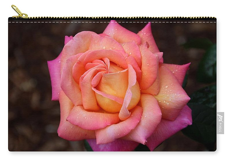 Rose Carry-all Pouch featuring the photograph A Breath From Sarasota by Michiale Schneider