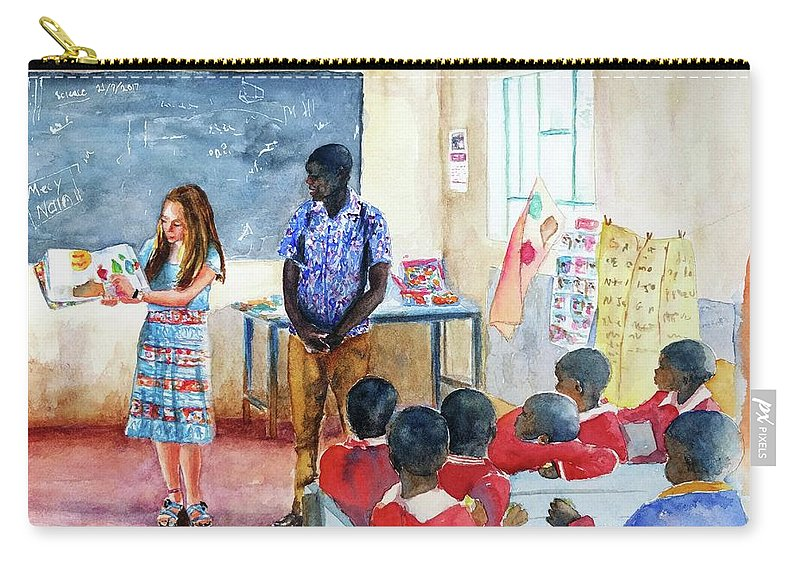A Classroom In Africa Carry All Pouch