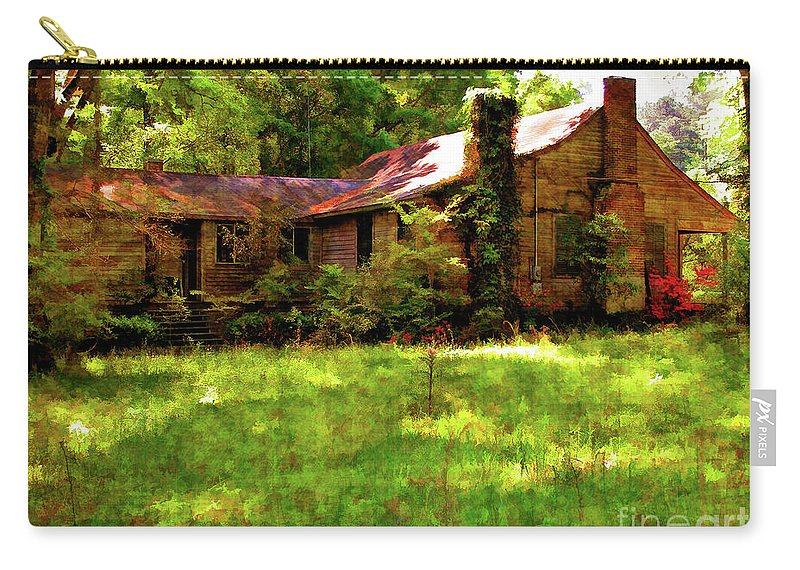 Old House Carry-all Pouch featuring the photograph A Country Place by Kathleen K Parker