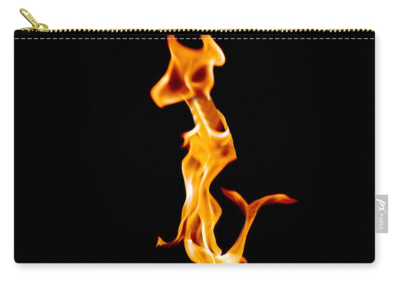 Fire Carry-all Pouch featuring the photograph A Creature Of Another Planet by Munir Alawi