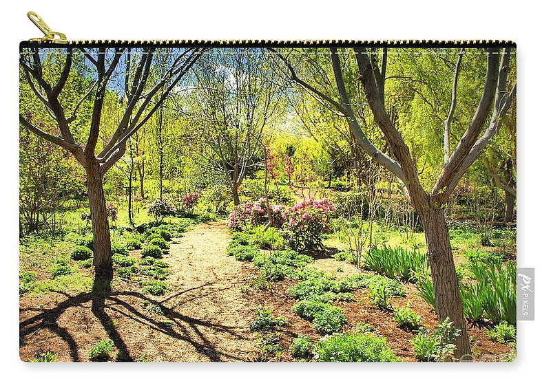 Spring Carry-all Pouch featuring the photograph A Dose Of Spring by Tara Turner