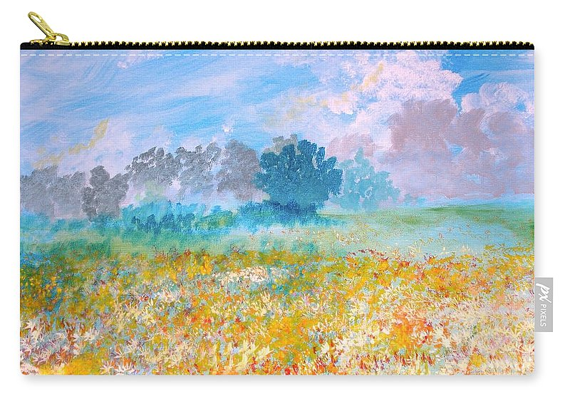 New Artist Carry-all Pouch featuring the painting A Golden Afternoon by J Bauer