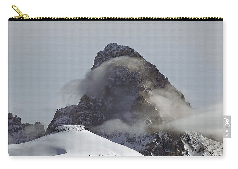 Landscape Carry-all Pouch featuring the photograph A Heavenly Wisp by DeeLon Merritt