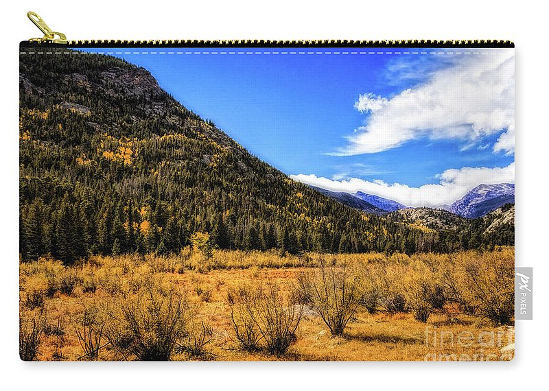 Jon Burch Carry-all Pouch featuring the photograph A Hint Of Fall by Jon Burch Photography