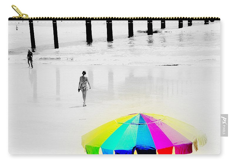 A Hot Summer Day Carry-all Pouch featuring the photograph A Hot Summer Day by Susanne Van Hulst