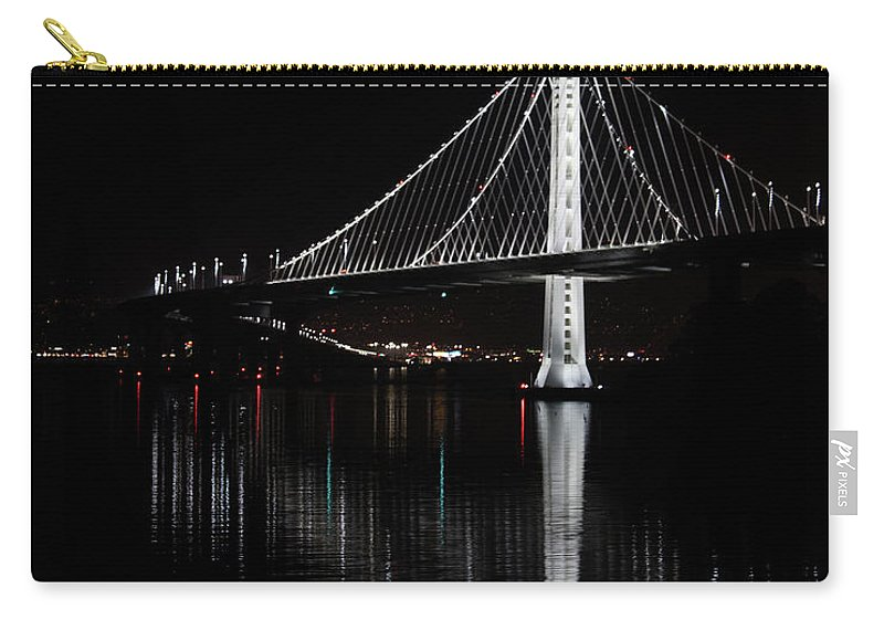 Bay Area Carry-all Pouch featuring the photograph A Light Amongst Darkness by Andrew Fairfield