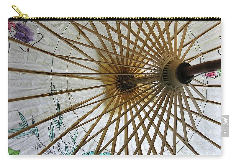Outdoors Carry-all Pouch featuring the photograph A Little Shade by Adam Vance