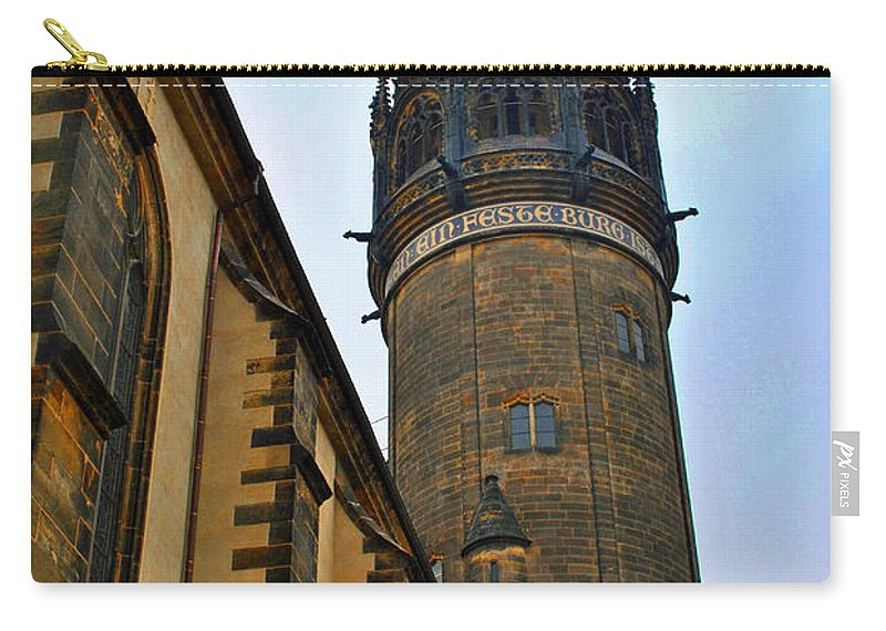 Wittenberg Carry-all Pouch featuring the photograph A Mighty Fortress by Jost Houk