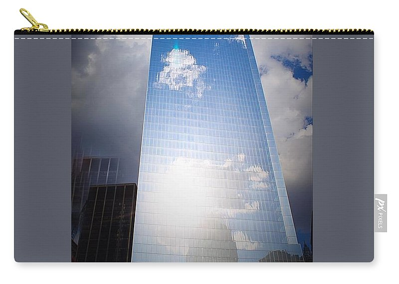 Architecture Carry-all Pouch featuring the photograph A New Beginning by Teresa Self