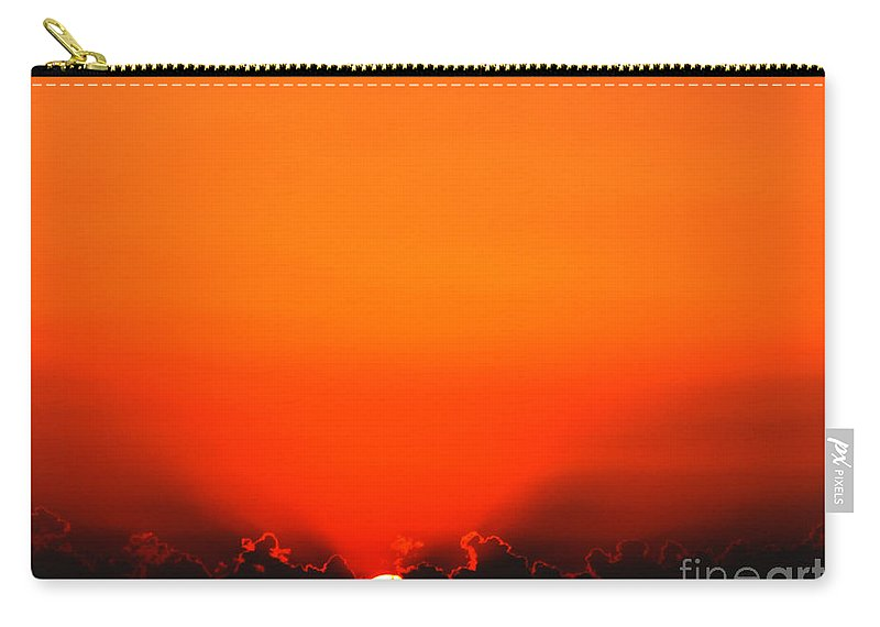 Sun Carry-all Pouch featuring the photograph A New Day by Amanda Barcon