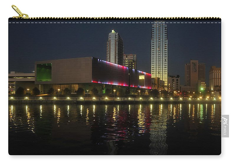 Tampa Museum Of Art Carry-all Pouch featuring the photograph A Night At The Museum by David Lee Thompson