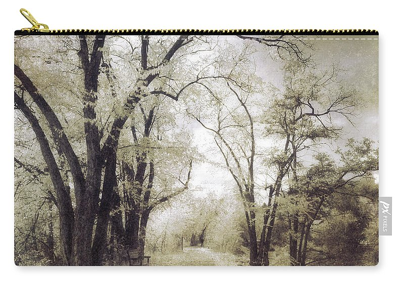 Path Carry-all Pouch featuring the photograph A Place For Dreams To Stay Forever by Tara Turner