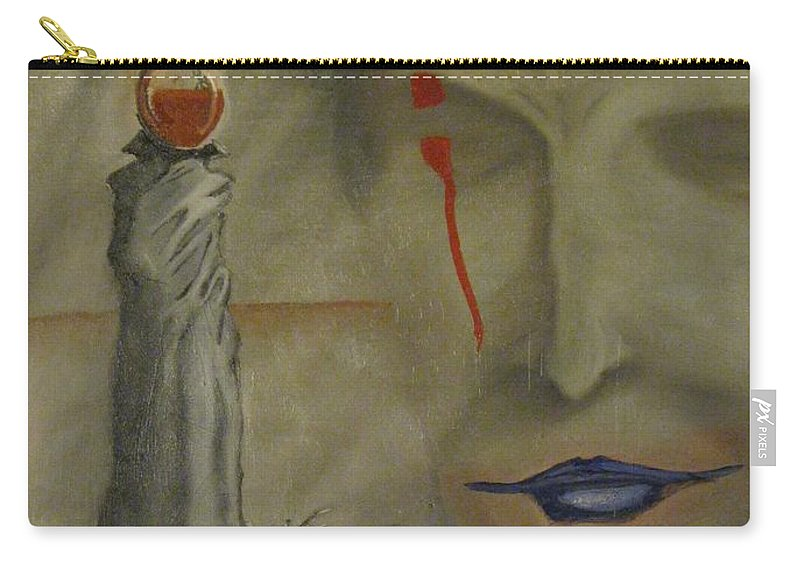 Surreal Carry-all Pouch featuring the painting A Season In Limbo by Scott Wilson