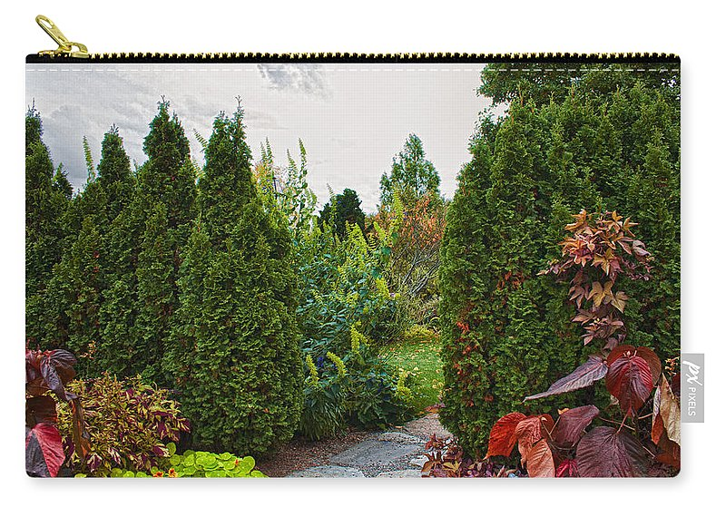 Garden Carry-all Pouch featuring the photograph A Secret Road by Mike Smale
