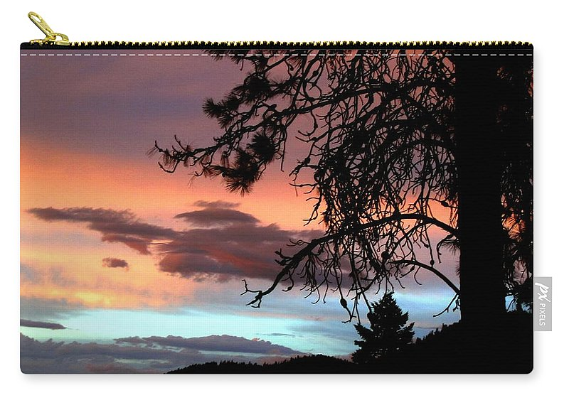 Sunset Carry-all Pouch featuring the photograph A Sky To Behold by Will Borden