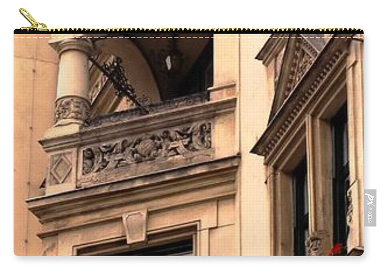 Vienna Carry-all Pouch featuring the photograph A Slice Of Old Vienna by Ian MacDonald