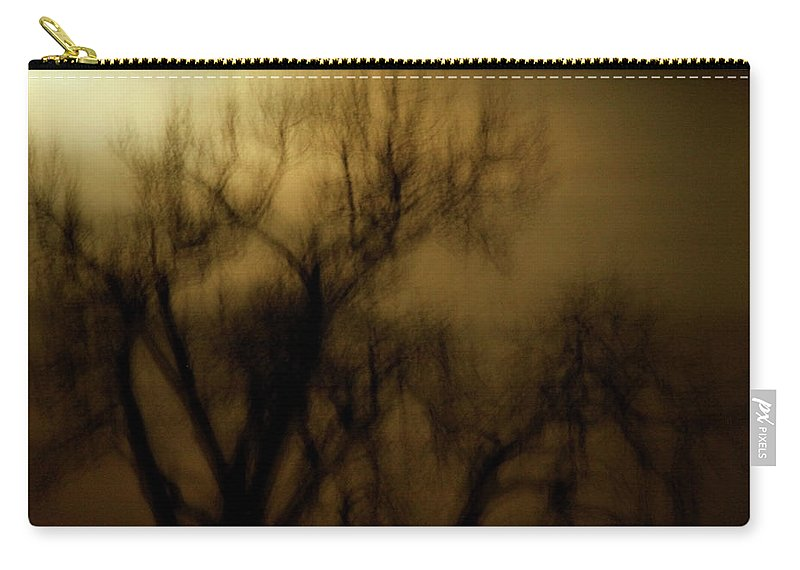 Spooky Carry-all Pouch featuring the photograph A Surreal Evening by Marilyn Hunt