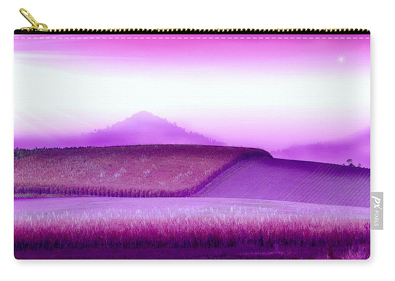 Landscapes Carry-all Pouch featuring the photograph A Sweet Harvest by Holly Kempe