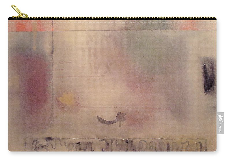 Abstract Carry-all Pouch featuring the painting A Thought Of Stillness by W Todd Durrance