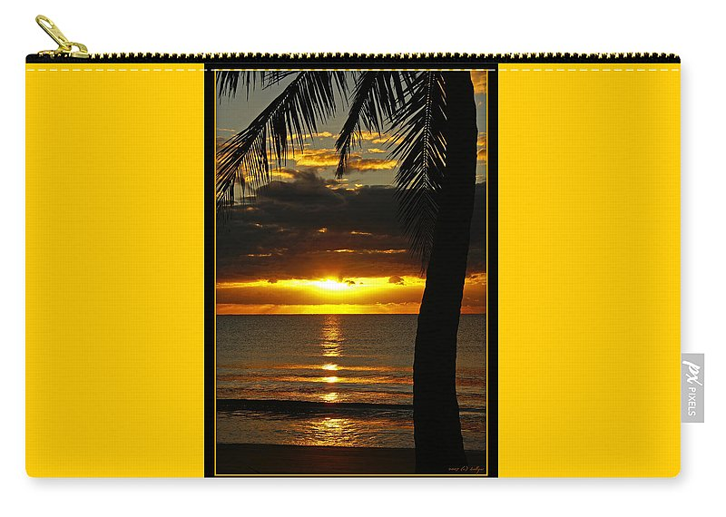 Landscape Carry-all Pouch featuring the photograph A Touch Of Paradise by Holly Kempe