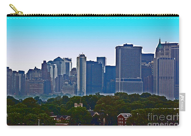 New York Carry-all Pouch featuring the photograph A Tree Grows In Brooklyn by Debbi Granruth
