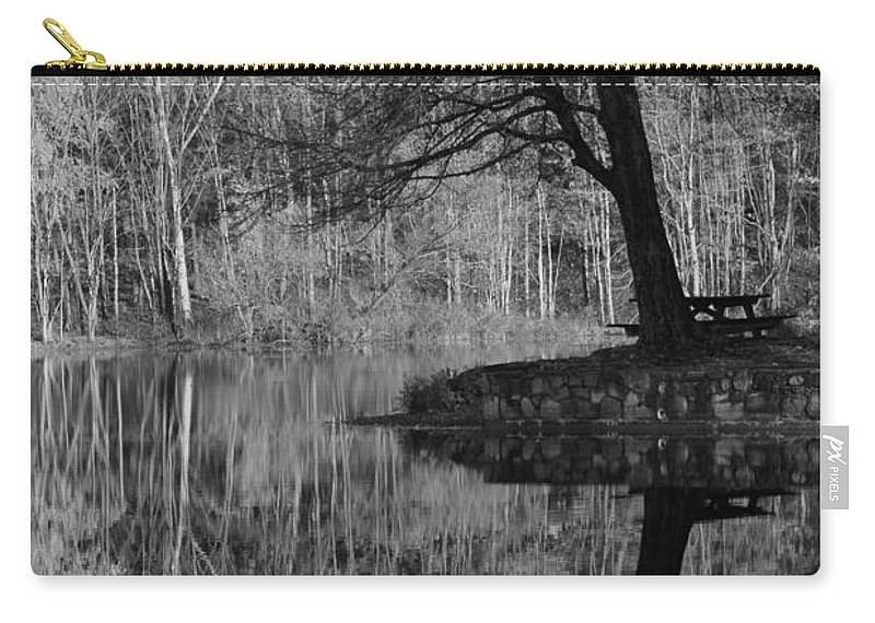 Tree Carry-all Pouch featuring the photograph A Tree Of A Different Color by Karol Livote