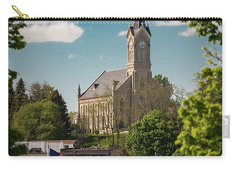 Church Carry-all Pouch featuring the photograph A View Of St Mary's by James Meyer