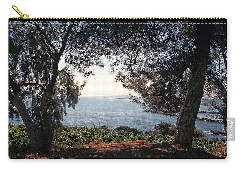 Lehtokukka Carry-all Pouch featuring the photograph A View To The Sea by Jouko Lehto
