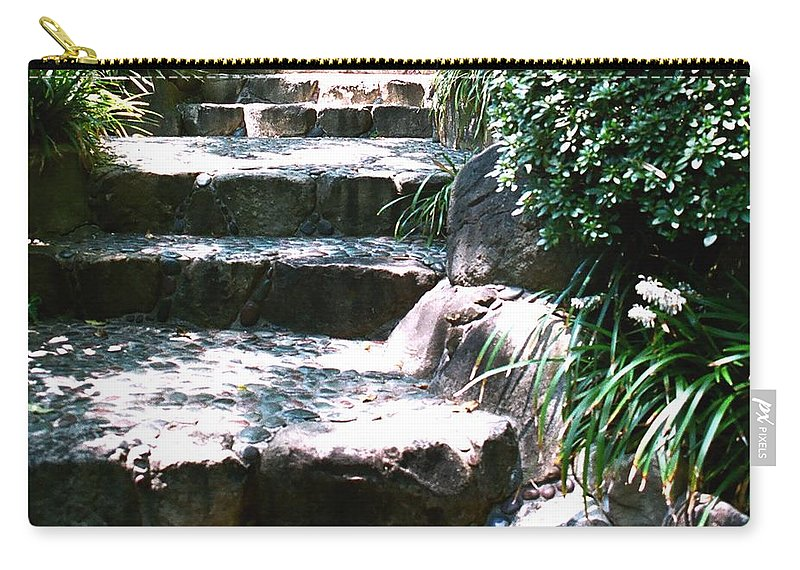 Stairs Carry-all Pouch featuring the photograph A Way Out by Dean Triolo