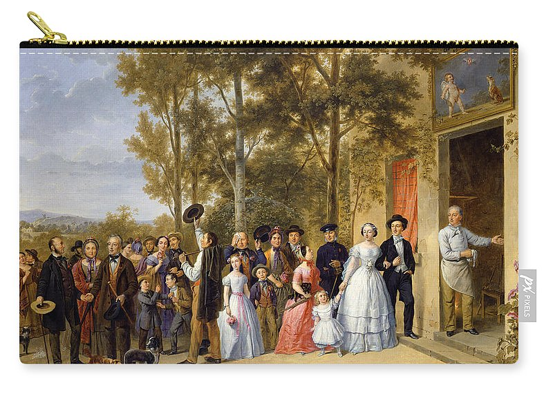A Wedding At The Coeur Volant Carry All Pouch For Sale By French School