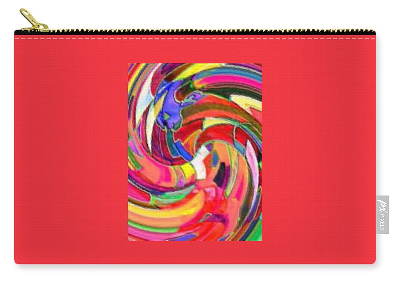 Digital Image Carry-all Pouch featuring the digital art AB by Andrew Johnson