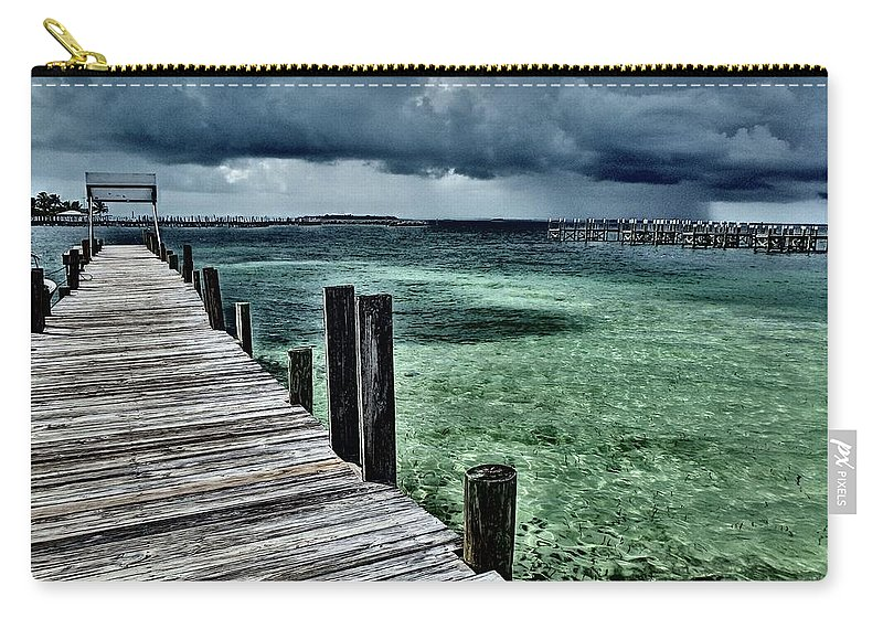 Caribbean Carry-all Pouch featuring the photograph Abaco Islands, Bahamas by Cindy Ross