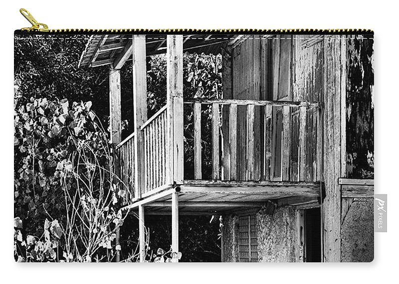 Amazing Carry-all Pouch featuring the photograph Abandoned, Kalamaki, Zakynthos by John Edwards
