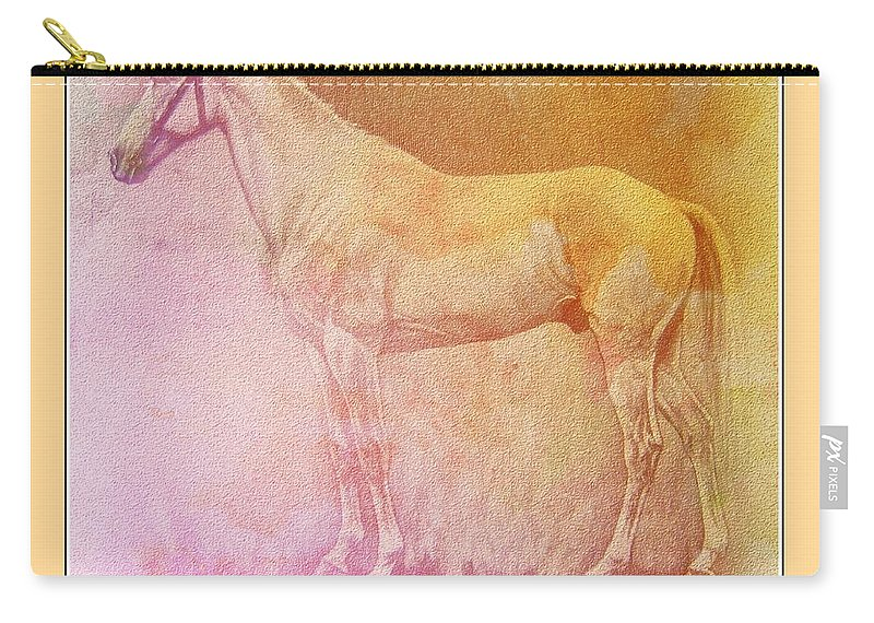 Abessinier Carry-all Pouch featuring the digital art Abessinier by Ericamaxine Price
