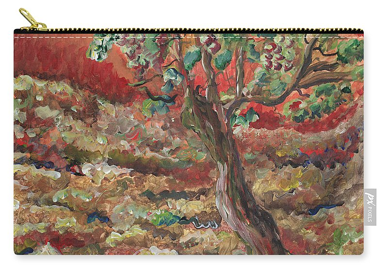 Abide Carry-all Pouch featuring the painting Abide by Nadine Rippelmeyer