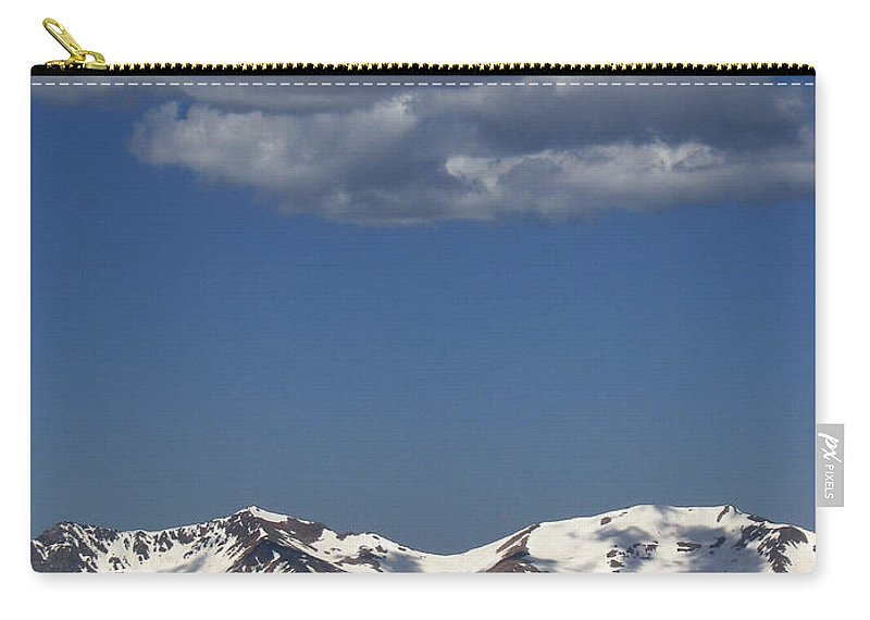 Colorado Carry-all Pouch featuring the photograph Above It All by Amanda Barcon