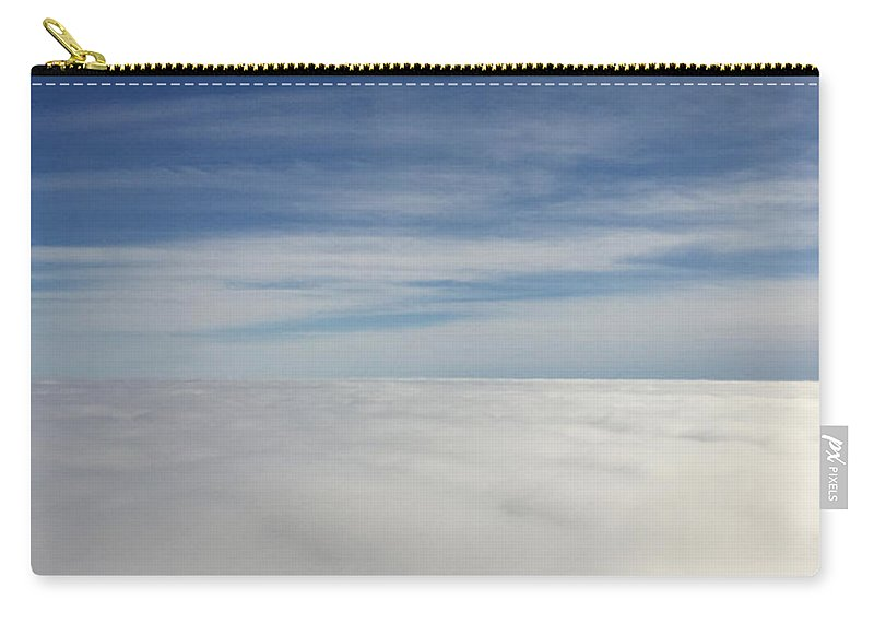 Sky Carry-all Pouch featuring the photograph Above The Clouds I by Margie Hurwich