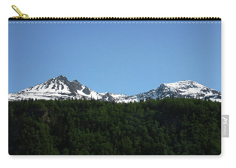 Nature Carry-all Pouch featuring the photograph Above The Treetops by Lori Tambakis