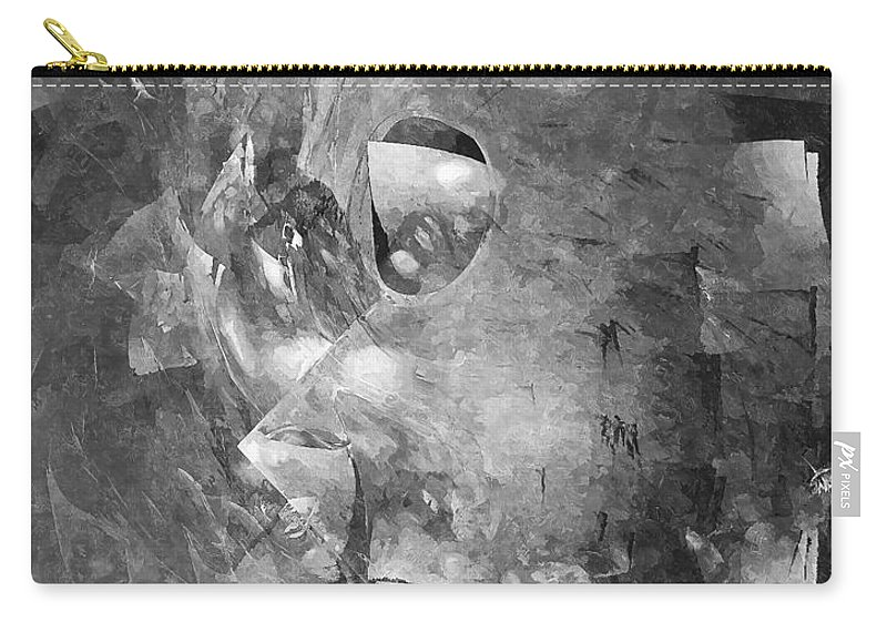 Graphics Carry-all Pouch featuring the digital art Abs 0494 by Marek Lutek