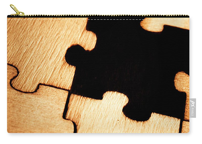 Business Carry-all Pouch featuring the photograph Absence In Completion by Jorgo Photography - Wall Art Gallery