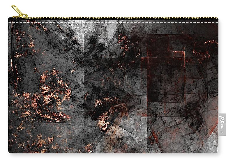 Fantasy Carry-all Pouch featuring the digital art Abstract 01-07-10-a by David Lane