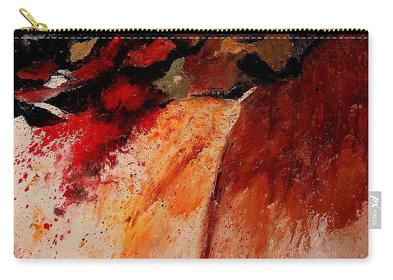 Abstract Carry-all Pouch featuring the painting Abstract 010607 by Pol Ledent