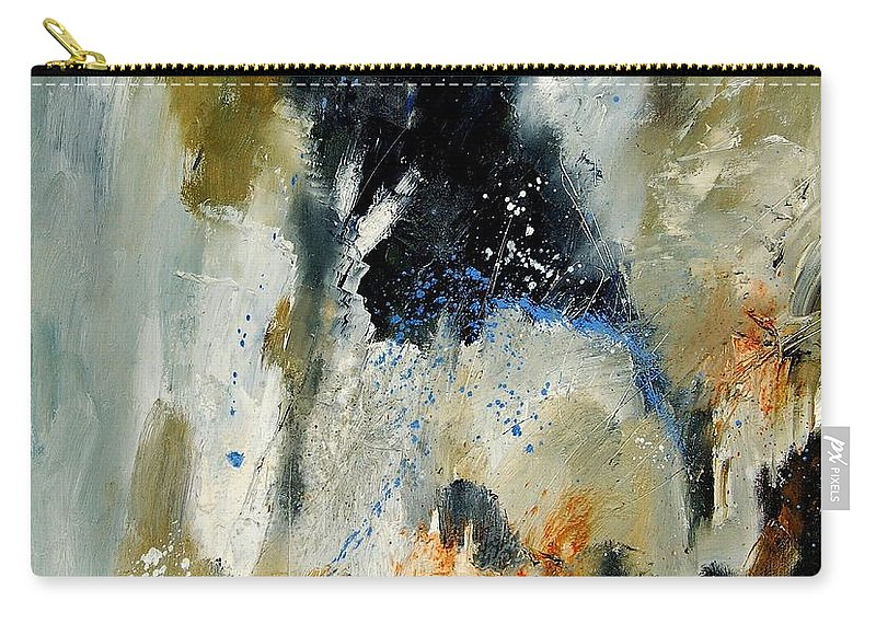 Abstarct Carry-all Pouch featuring the painting Abstract 070808 by Pol Ledent