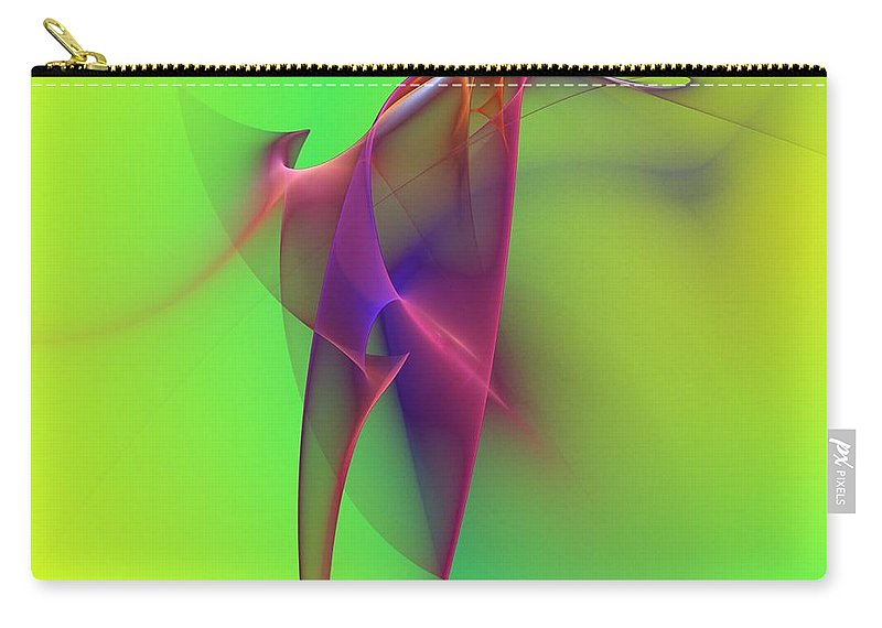 Abstracts Carry-all Pouch featuring the photograph Abstract 091610 by David Lane