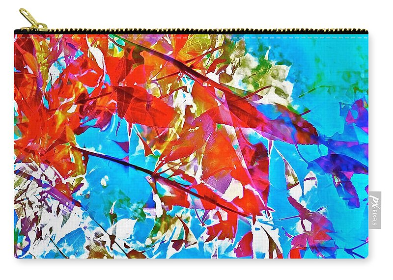 Abstract Carry-all Pouch featuring the photograph Abstract 128 by Pamela Cooper