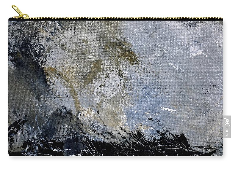 Abstract Carry-all Pouch featuring the painting Abstract 135 by Pol Ledent